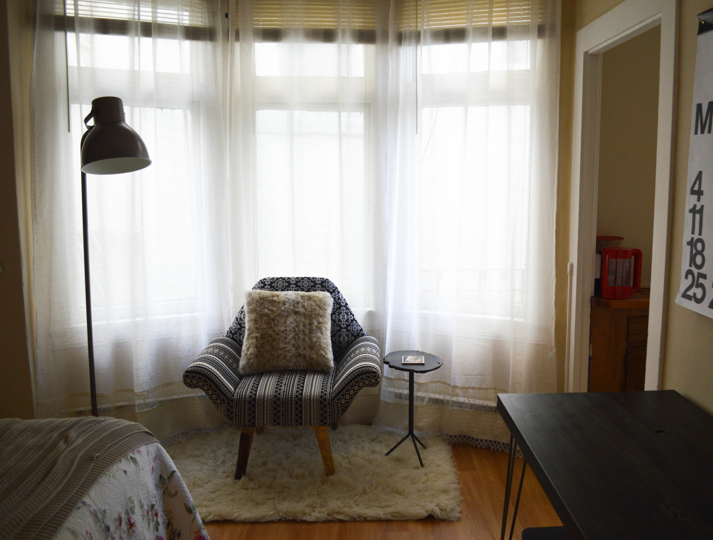 lengthen your curtains DIY