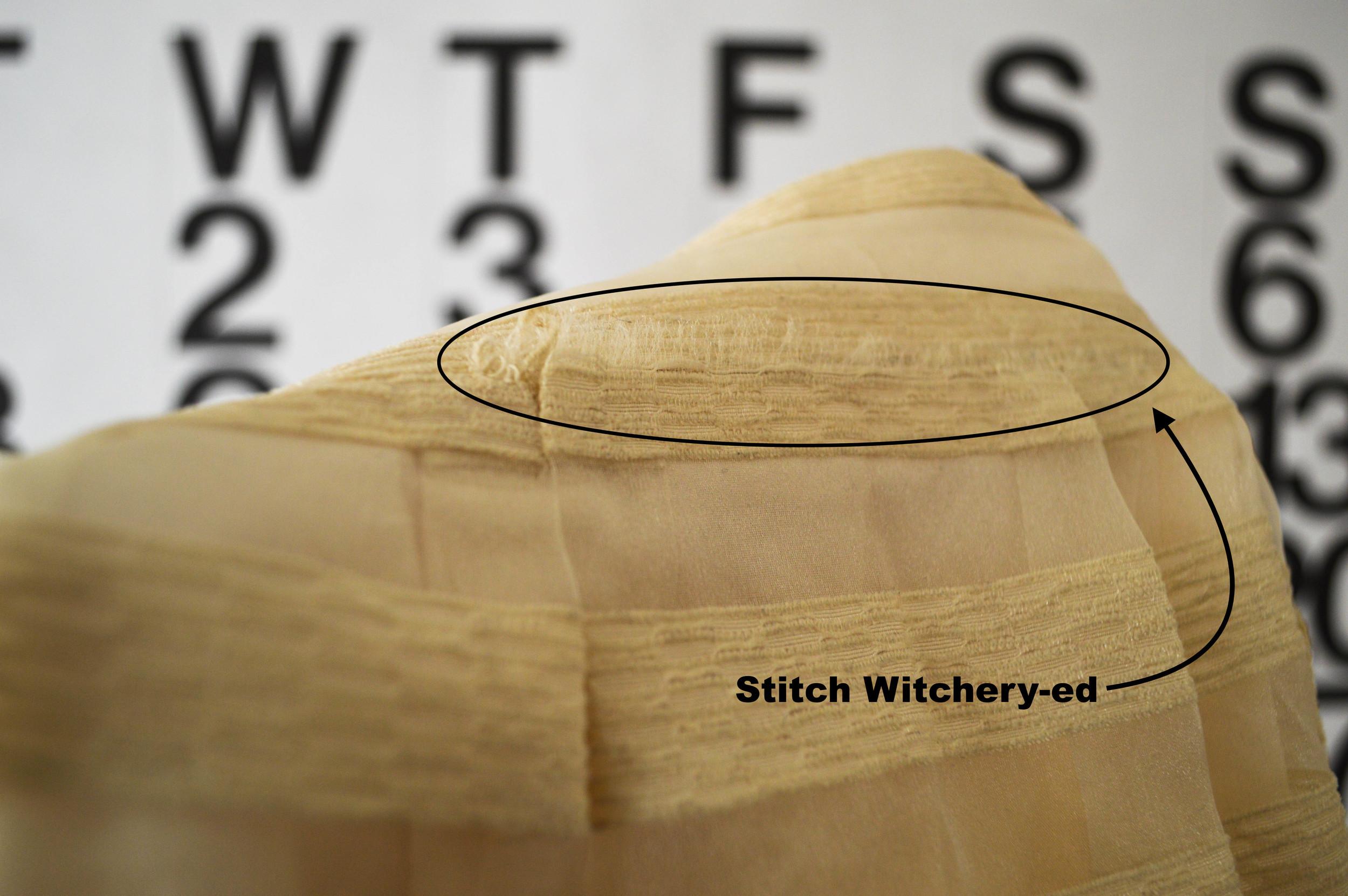 no stitch skirt repair