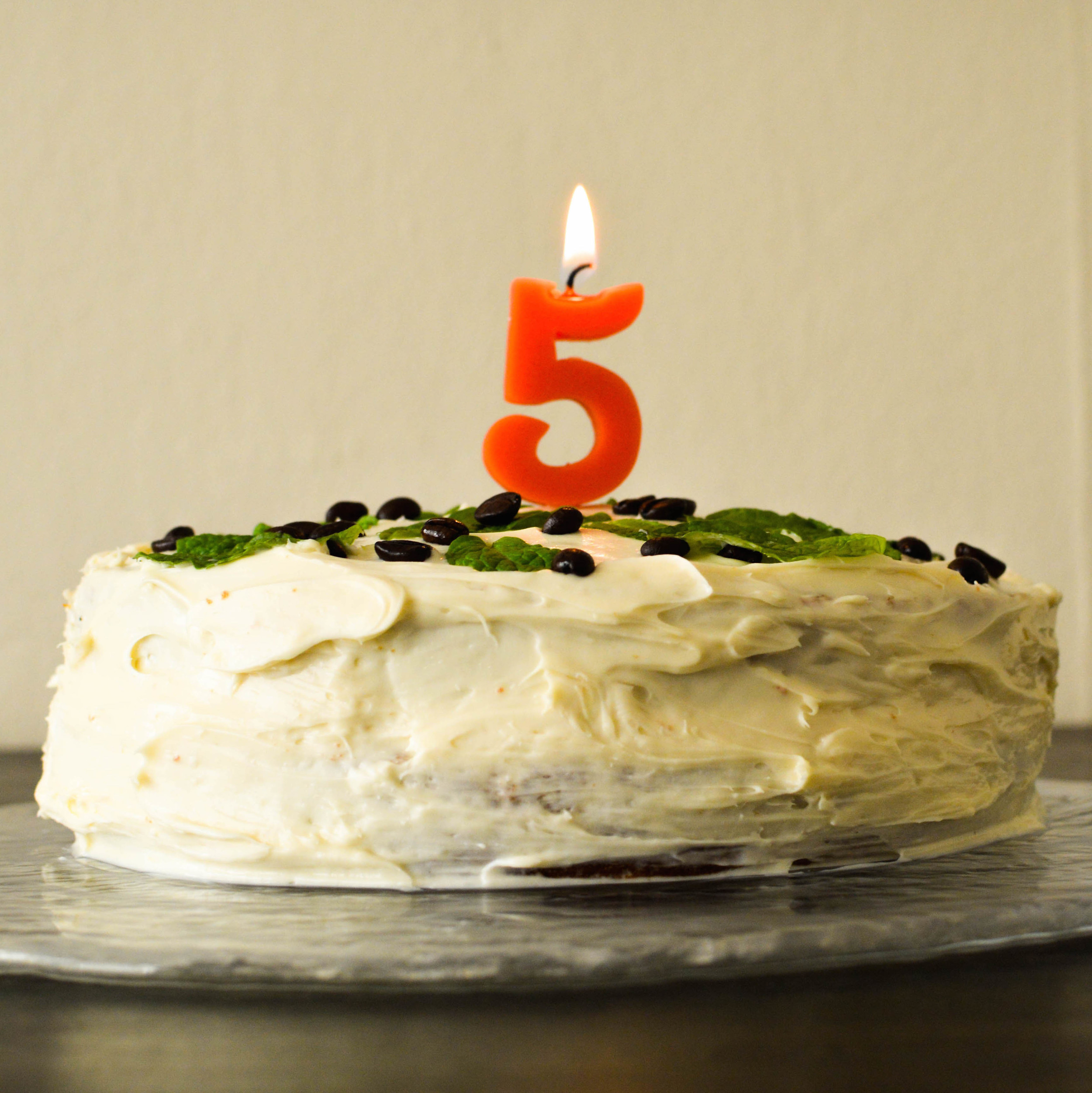 FIVE YEARS OF BLOGGING