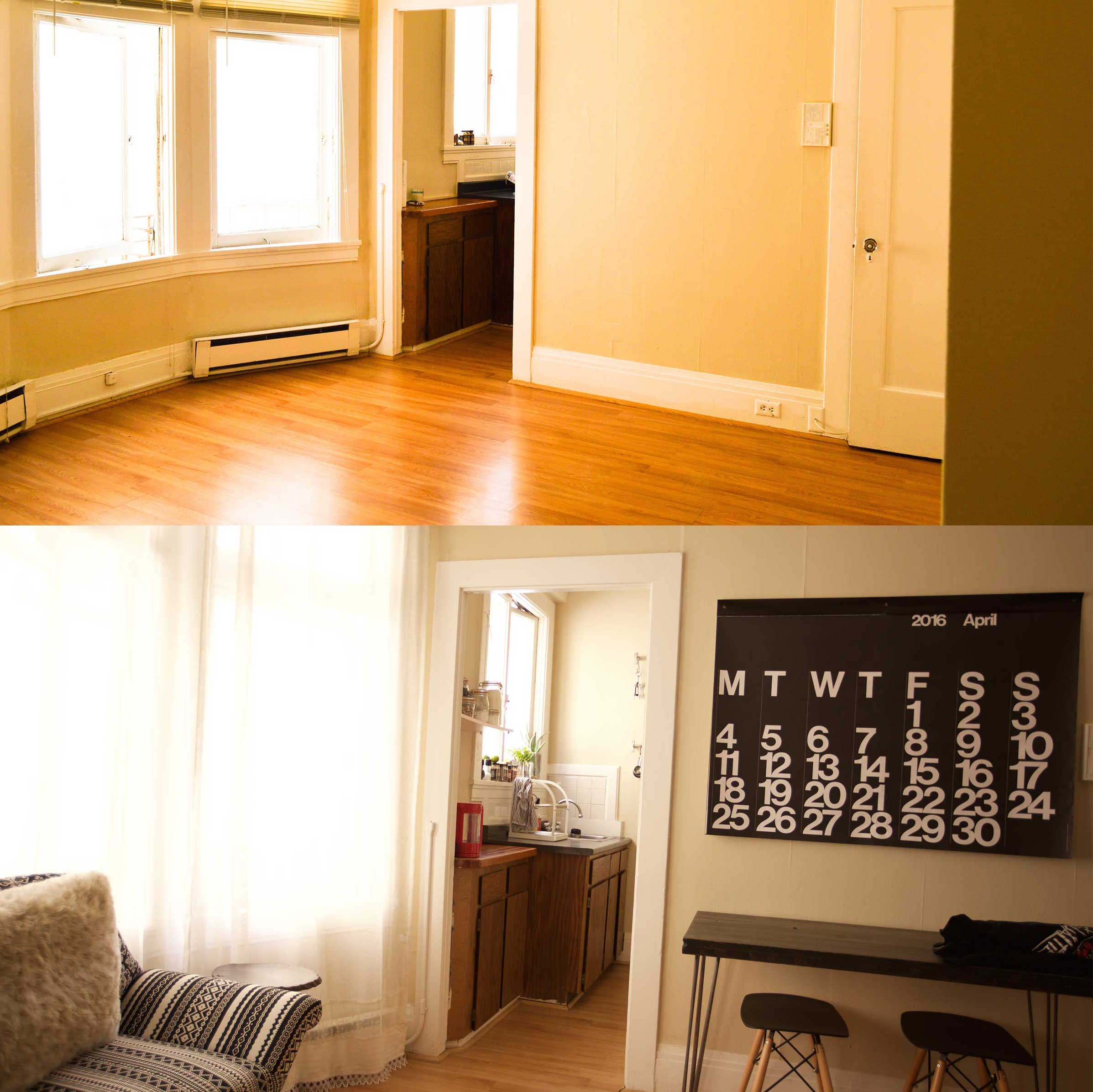 SF STUDIO: BEFORE AND AFTER