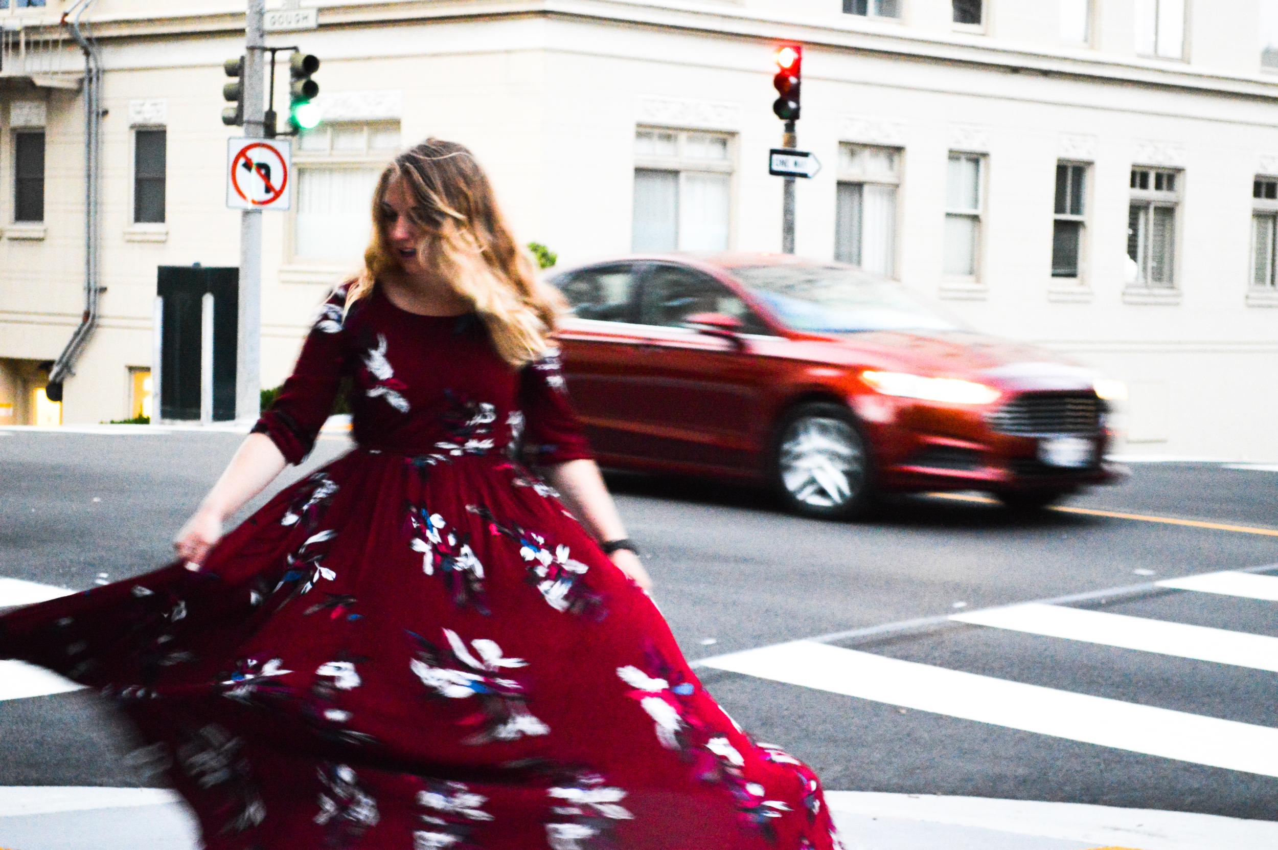 Twirling Dresses