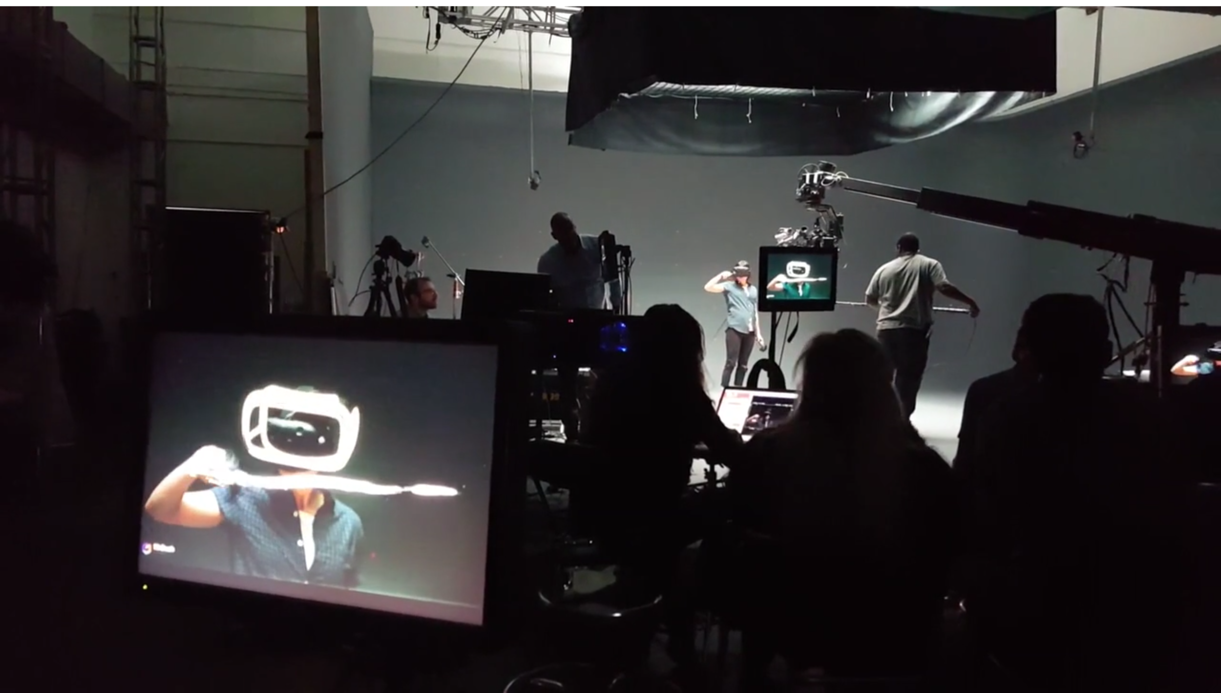 Click on the thumbnail above to watch the behind the scenes video on the making of the Tilt Brush trailer