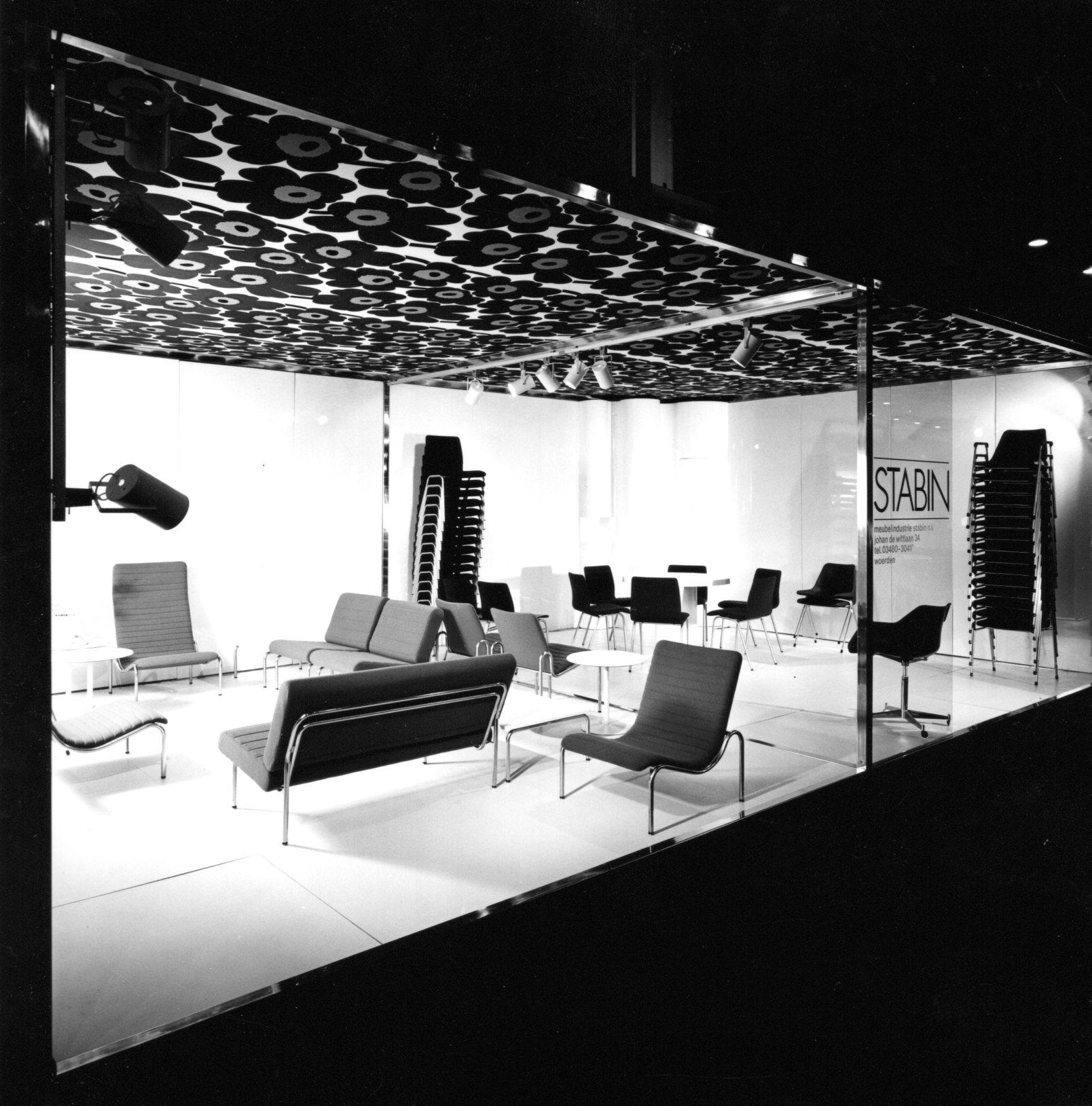 Stabin stand, Utrecht 1969. Photo Jan Versnel