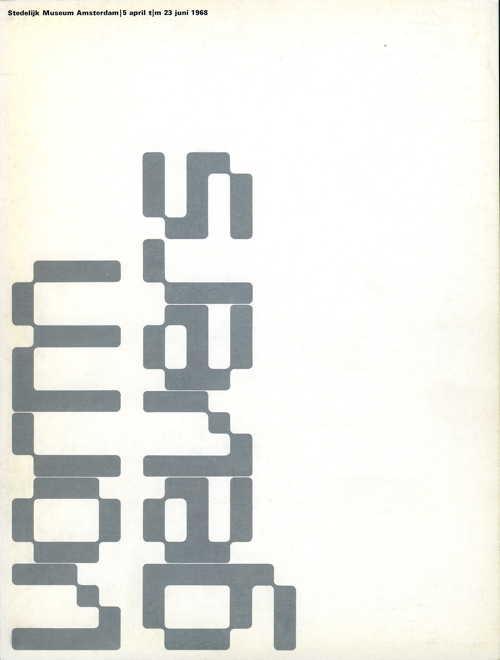 Vormgevers, Stedelijk Museum Amsterdam 1968