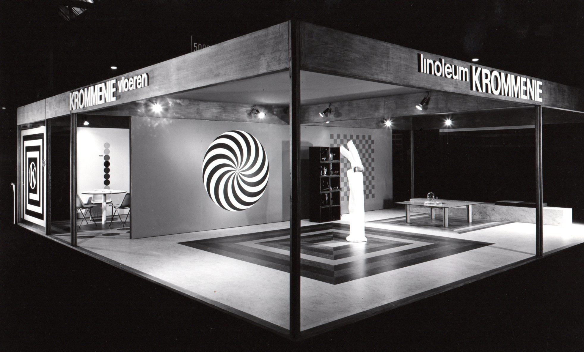 Linoleum Krommenie stand 1965