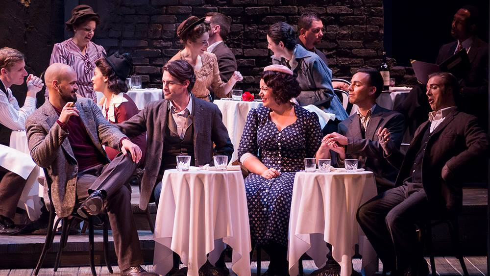 La Boheme at Virginia Opera - Photo by Lucid Frame Productions