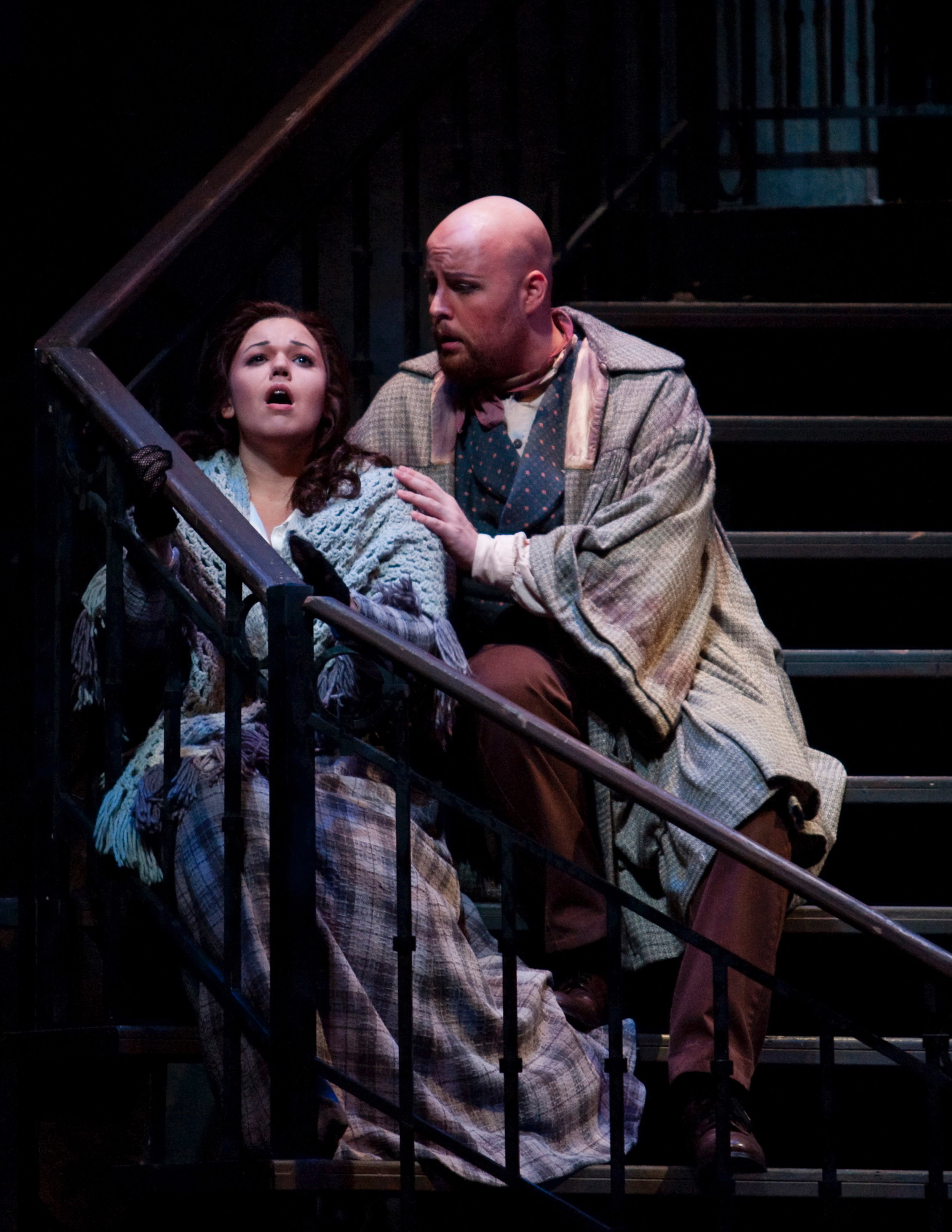 La Boheme at Arizona Opera - Photo by Tim Fuller