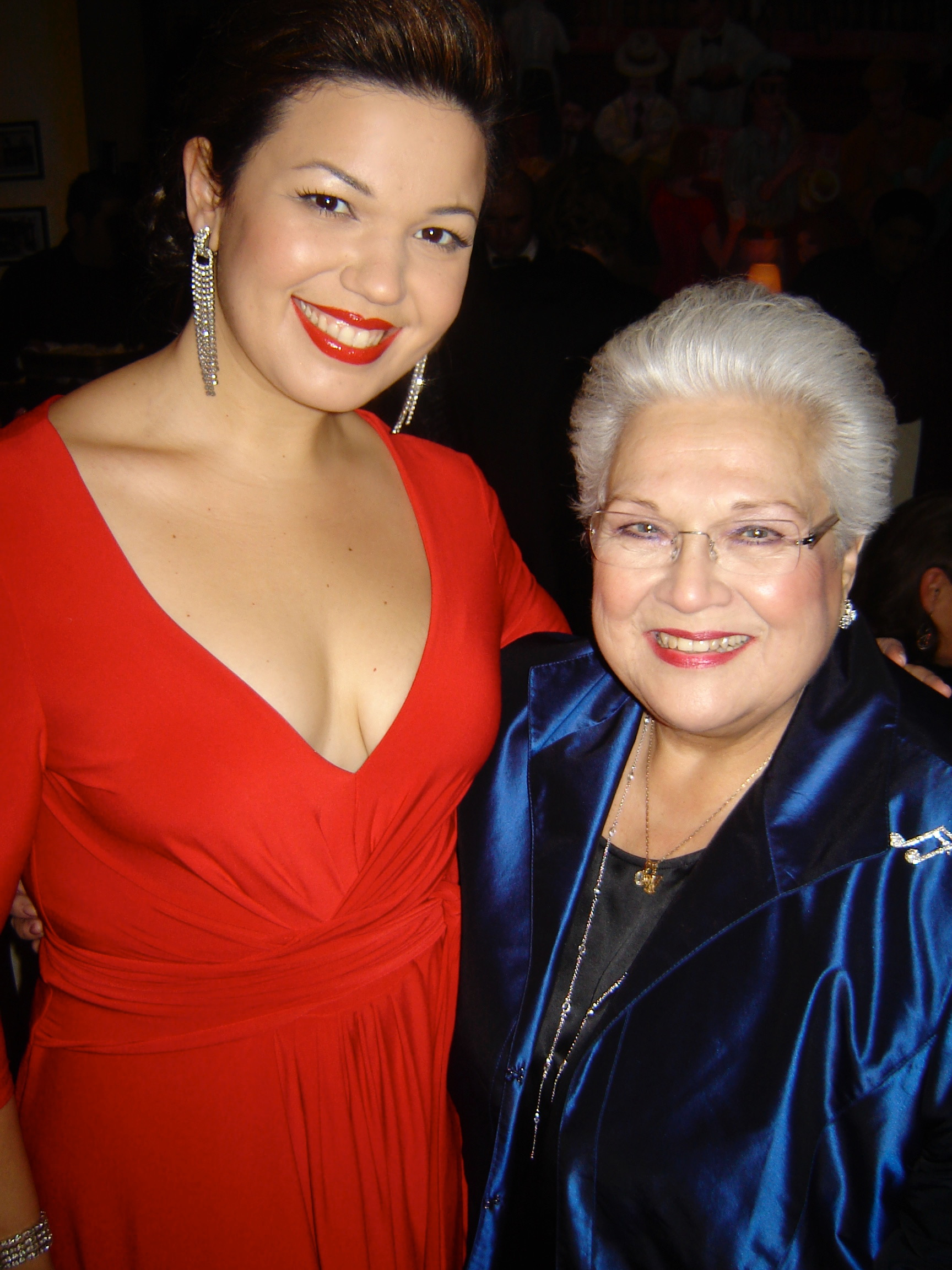 Celebrating with Marilyn Horne, post Carnegie Hall MHF Gala!