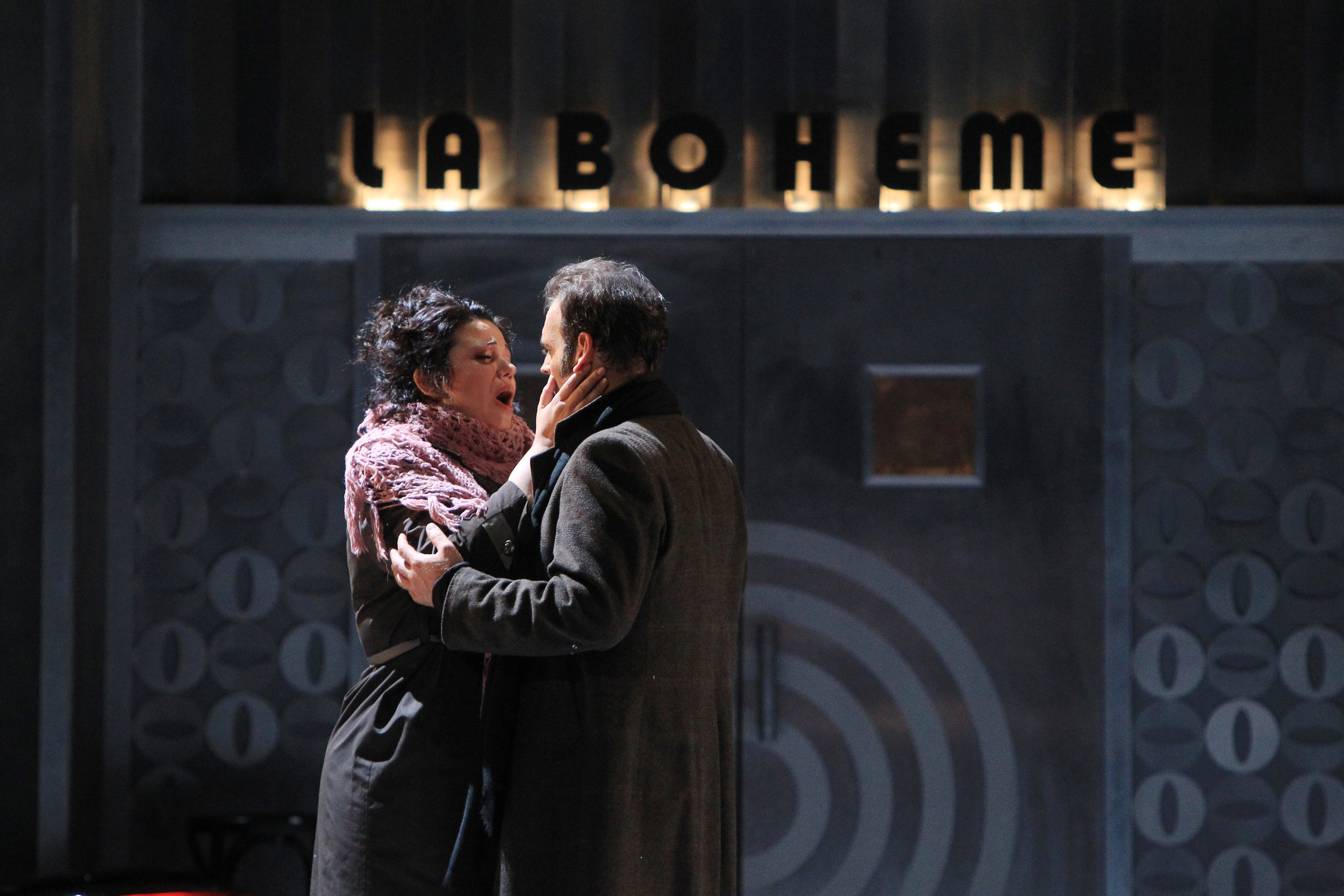 La Boheme at Opera National de Bordeaux - Photo by Guillaume Bonnaud