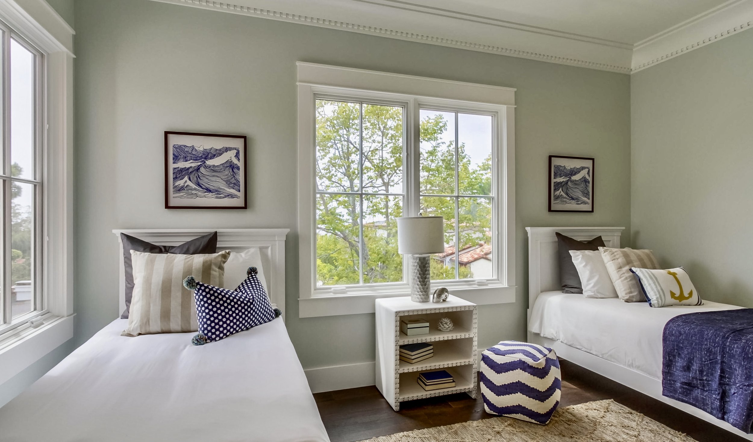 Grawski kids coastal bedroom