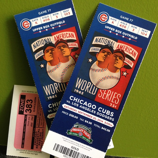Hey, #Chicago, what do you say? The #Cubs are gonna win today! nostigmas.org/events #celebratelife #raffletime