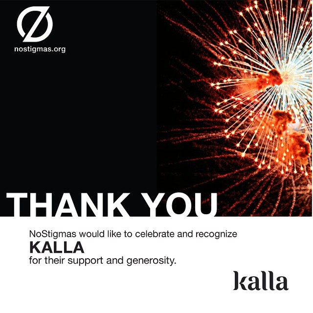 We thank @Kalla for bringing beauty to our celebration on World Suicide Prevention Day! nostigmas/events #celebratelife #flowerpower
