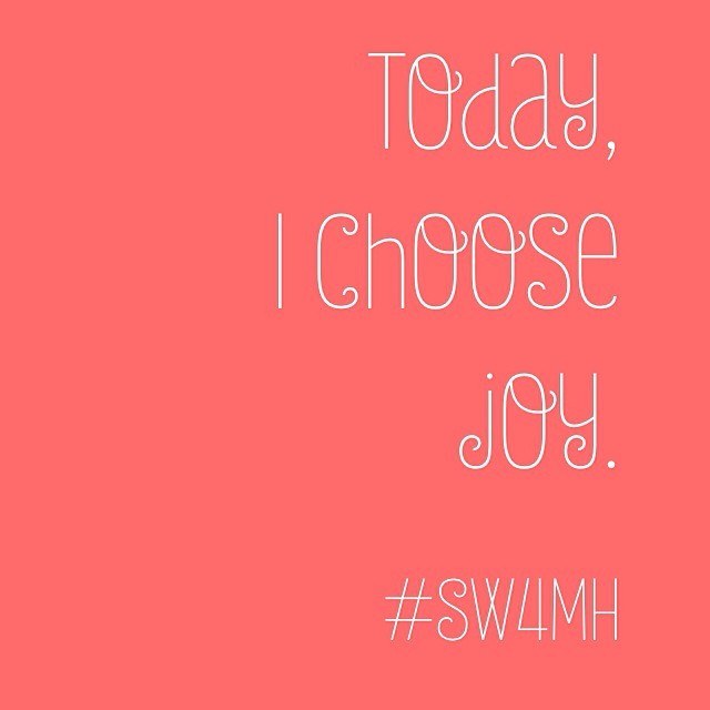 Set a positive intention for today and see what it brings! #bepositive #joy #mindful #mentalhealth #nostigmas #sw4mh