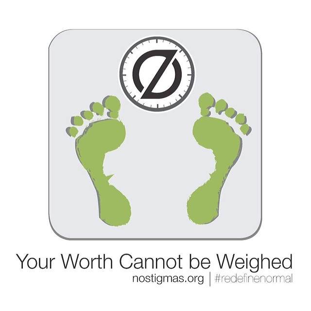 Your worth cannot be weighed. #RedefineNormal