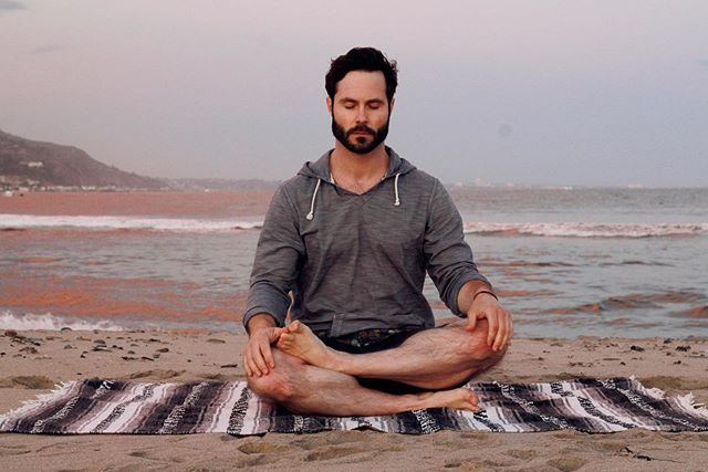 Yes, I posed for a meditation photo. 🤓 Seated practice is something I do most every day, but usually there's no one else around. Fortunately, @leiphillips managed to capture this one for me.  Sharing my personal story and wellness practice is something I've grown accustomed to while helping people achieve optimal wellness. It's not always easy to be vulnerable, but my goal is to provide you with the best of what I've learned along the way so you can hack your health and hopefully avoid some of my many many mistakes.  So, if there's anything that I've yet to cover, just ask! I'll do my best to explain what I've learned and give you tangible action items in my writing and videos.  And if you're really ready for a deep dive, send me a DM and let's explore a workshop or some one-on-one coaching!  By the way, my go-to tool for meditation is @headspace. Members of @nostigmas Ally Program get a free premium subscription for a year. So, head over to nostigmas.org and join our community. 💚