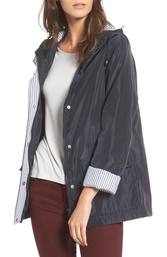 Beecher Hooded Raincoat