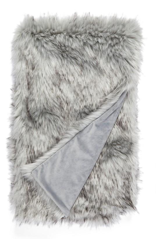 Fox Faux Fur Blanket