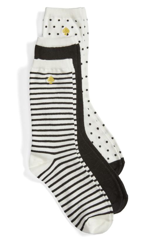 Kate Spade 3-pack Socks
