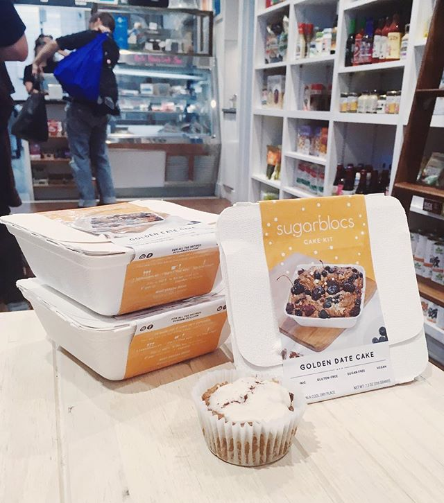 Our organic gluten-free sugar-free GOLDEN DATE CAKE KITS are now in stock at @orchardgrocer ! It's the easiest, healthiest & tastiest way to bake. More info & recipes on our website very soon!