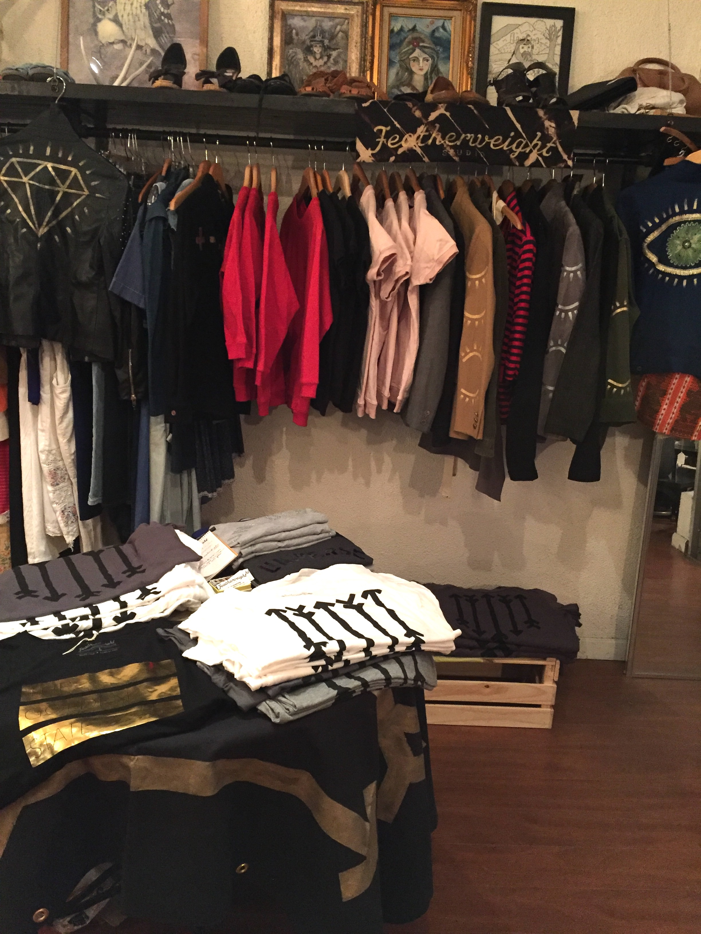 Featherweight Studio @ Goldmine Boutique    Los Angeles CA