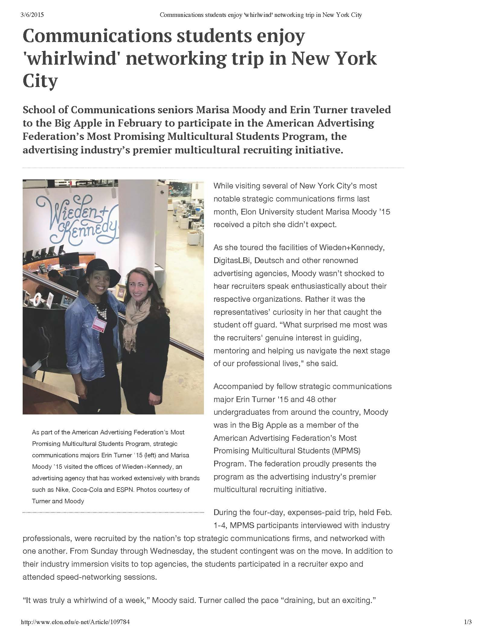 Communications students enjoy 'whirlwind' networking trip in New York City_Page_1.jpg