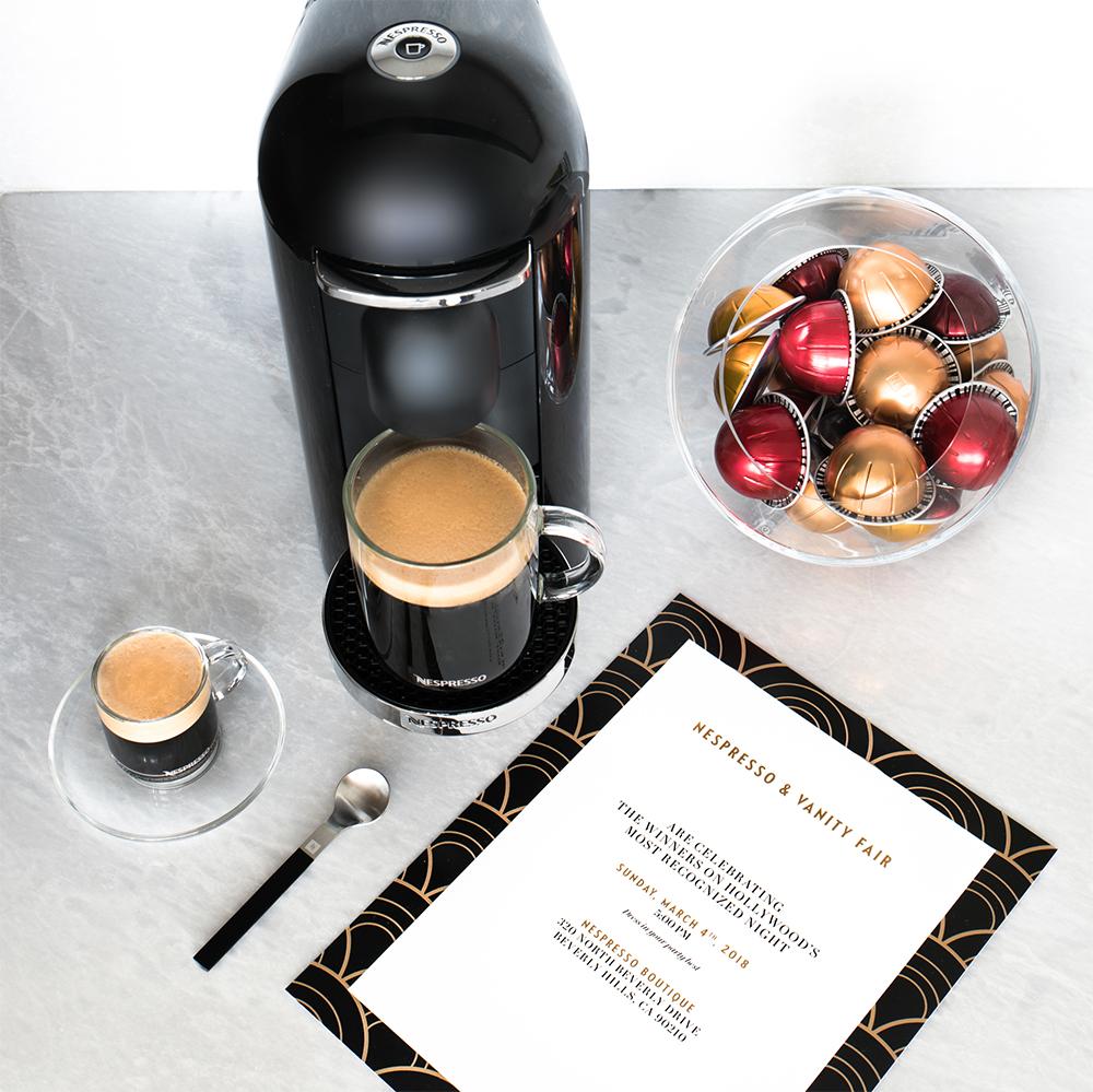 Nespresso x Vanity Fair