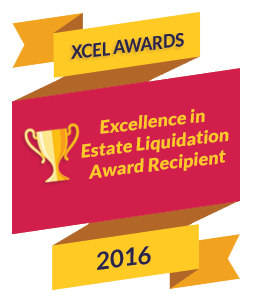 """2016 & 2017 publicly voted and awarded the prestigious """"Excellence in Estate Liquidation Award"""" as the #1 Estate Liquidator in all of New Hampshire."""