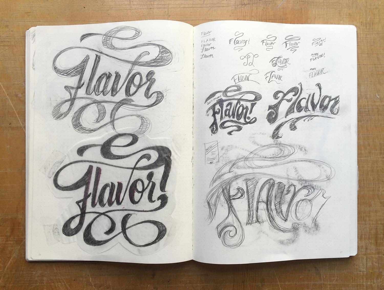 Flavor-sketches