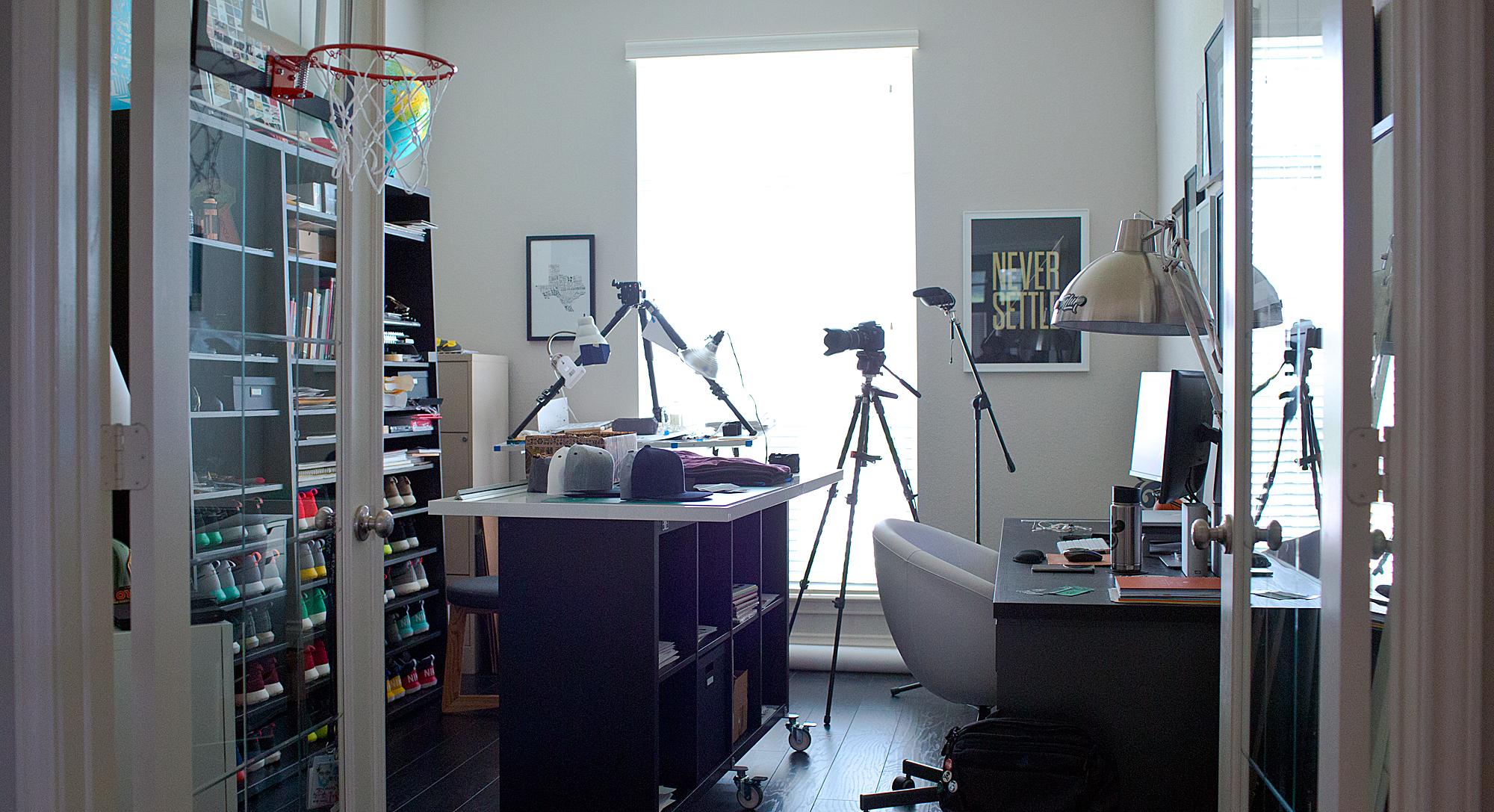 Terence Tang 's home studio