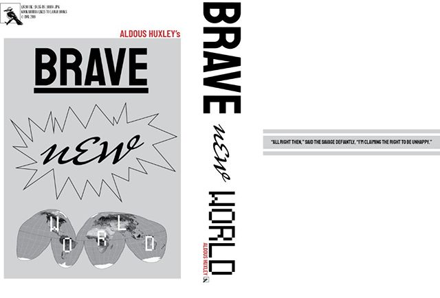 "here's a concept for huxley's ""brave new world!"" not in love with the concept, and i've got more ideas, but it's important to keep iterating and trying new things. stay tuned.  #huxley #bravenewworld #bookdesign #coverdesign"