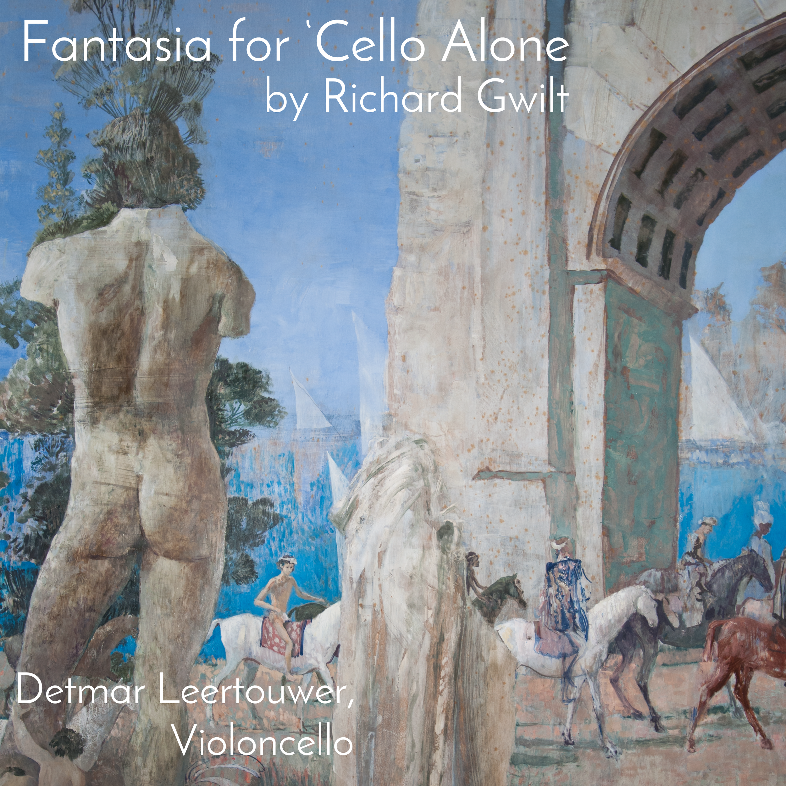 Click or tap on the image to download the 'audio-only' version of Fantasia for 'Cello Alone by Richard Gwilt.