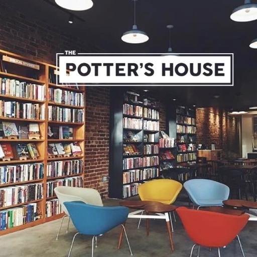 The   Potter's House   is a nonprofit café, bookstore, and event space in the Adams Morgan neighborhood of Washington, DC. Since opening our doors in 1960 we have been a key place for deeper conversation, creative expression, and community transformation.