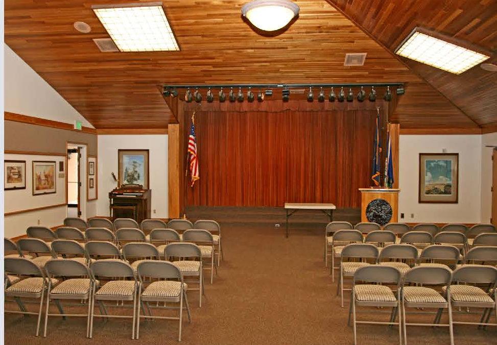 main floor meeting room looking west