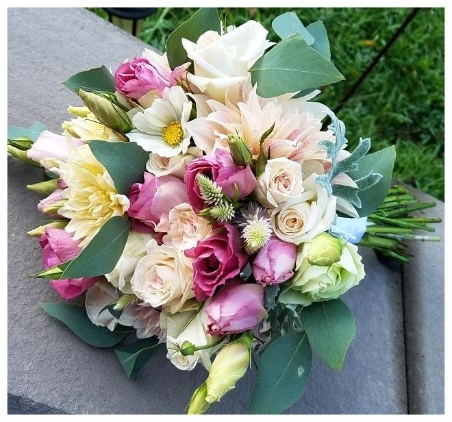 Mid July Bridal Bouquet