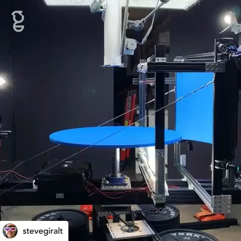 Repost from @stevegiralt:  Bouncing balls at 32 MPH #visualengineering #oddlysatisfying #abstractart #art #visualart #eyecandy #highspeed #centrifugalforce #phantomveo4k #practicaleffects #cinematography #notCGI #spinning #balls #bouncing THANKS TO @mattphub @rileymorgantimeshift @dangottesman @haliegraham @paolaandrea_stylist For all the hard work to create this amazing machine