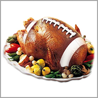 Turkeyball    The true story of football on Thanksgiving, written for the New Yorker online.