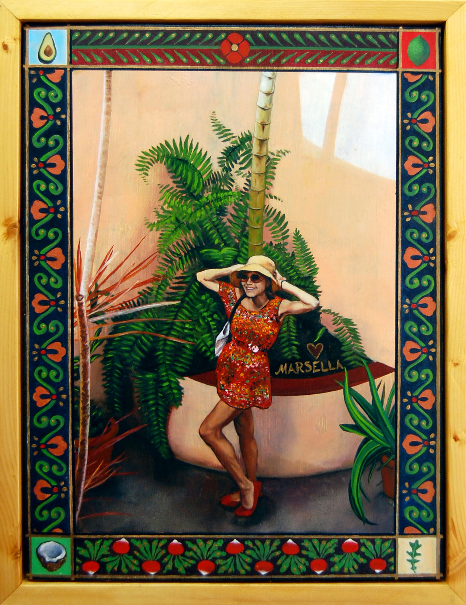 Marseille Debout à L'Endroit où la Mère de Camille Pissarro lui a Donné naissance (Marsella Standing on the Spot where Camille Pisarro's Mother Pushed Him Out)