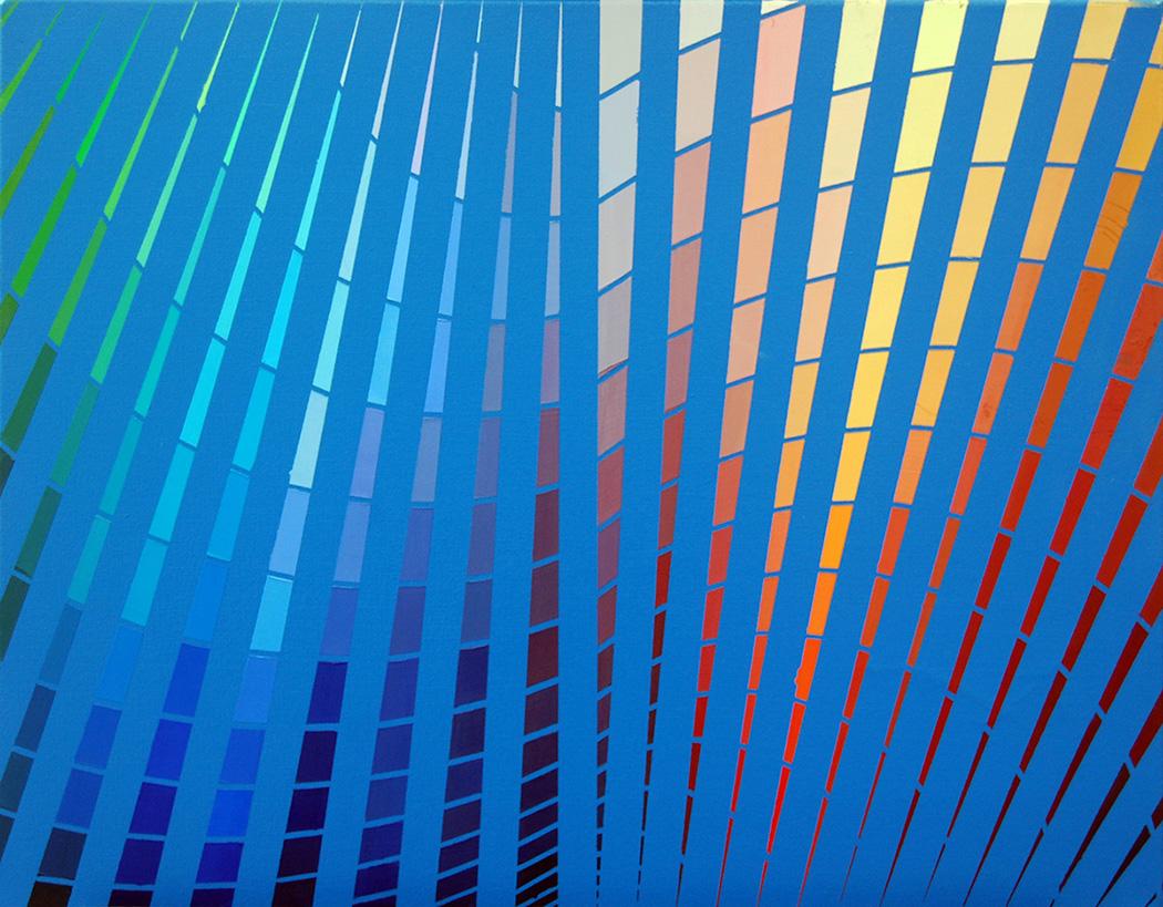 "a bat   Oil on Canvas  28"" x 22""  2016"