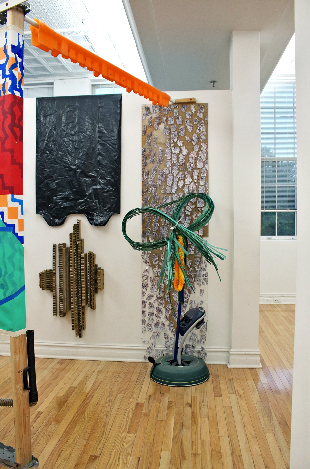 New Merz Works  Installation  Center for Contemporary Art, Bedminster NJ  2018