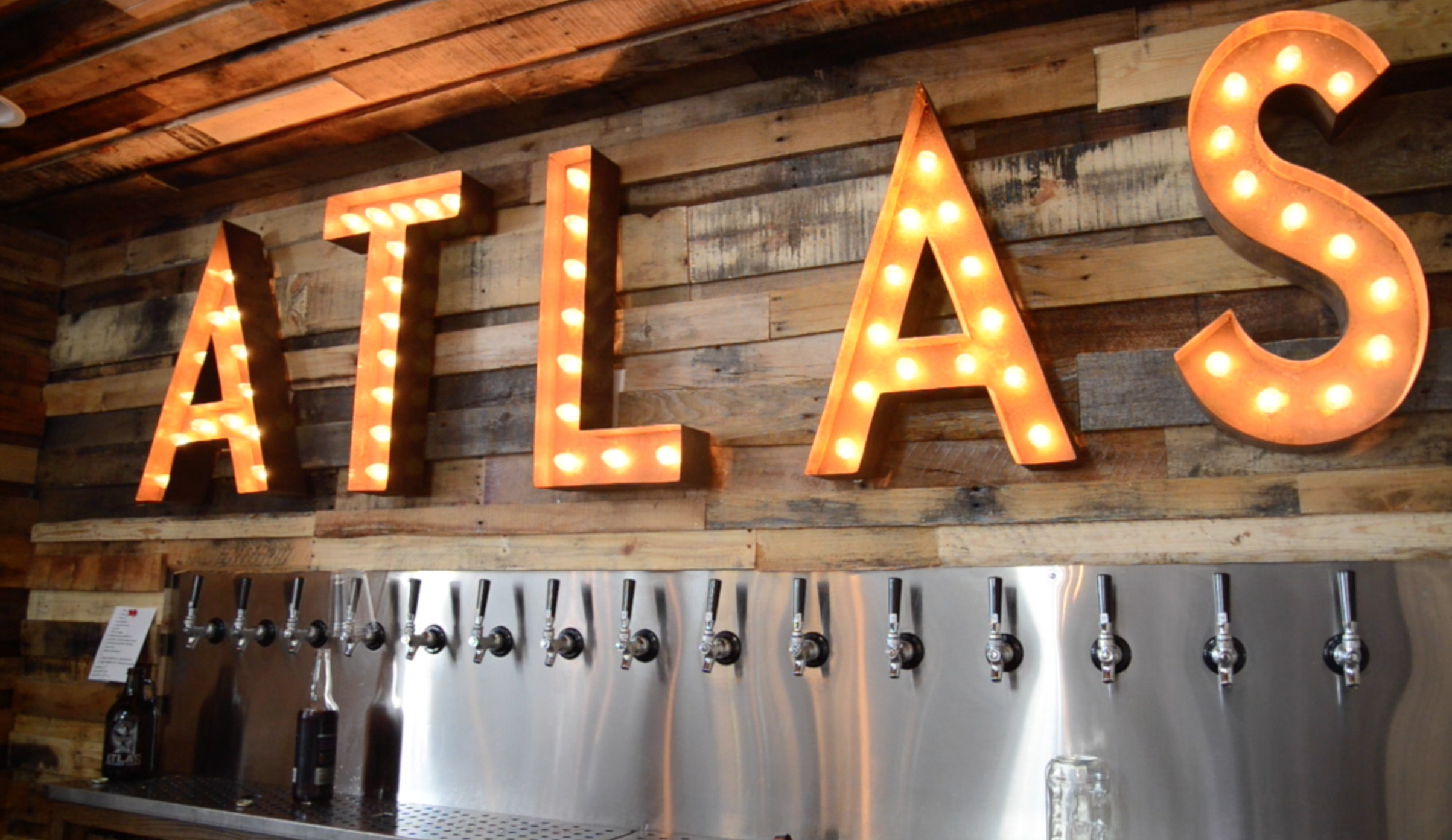 ATLAS CIDER BEND OREGON TAPROOM