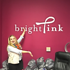 Me at the Bright Pink offices in Chicago!