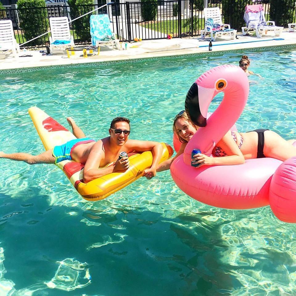 Just floatin' around. What we do best.