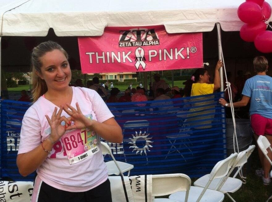 Me at my first 5k in 2012
