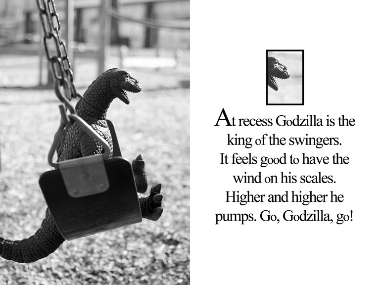 "OAK book ""godzilla goes to montessori"""