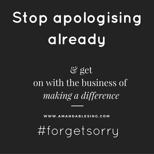 Stopapologising