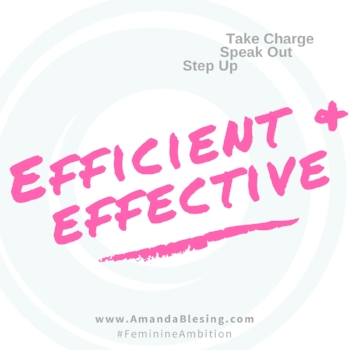 Effective&efficient