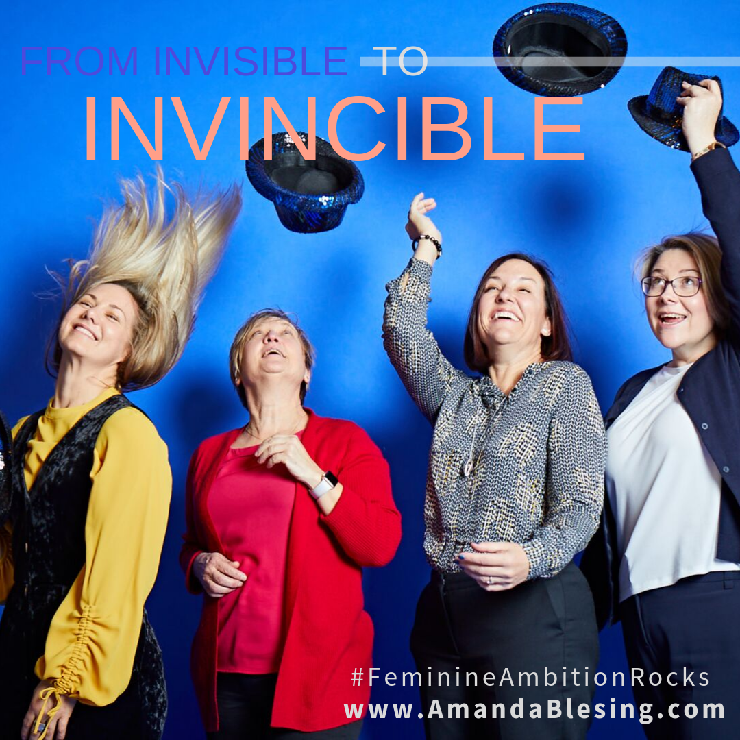 Purchase from Invisible to Invincible - a self-promotion handbook for executive women by Amanda Blesing