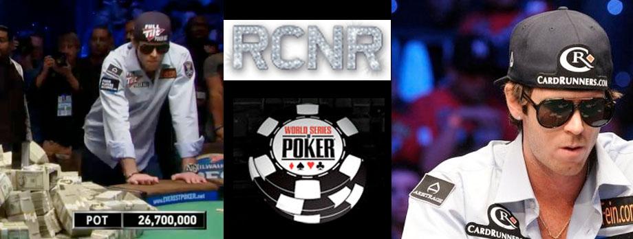 World Series of Poker Runner-Up, John Racener