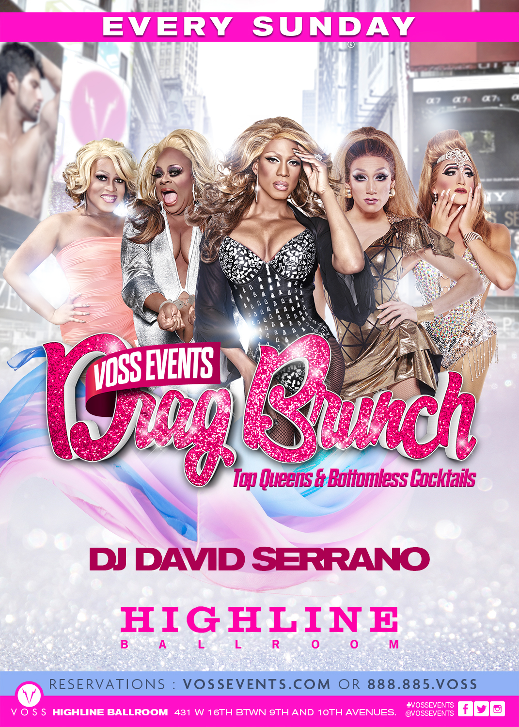 Sunday Drag Brunch by Voss Events