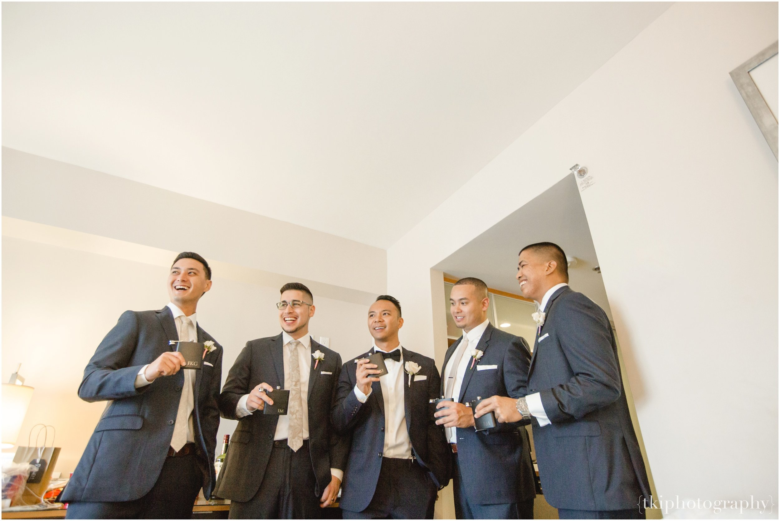 One final hoorah with the men on Brad's wedding day. They each looked groom and spectacular